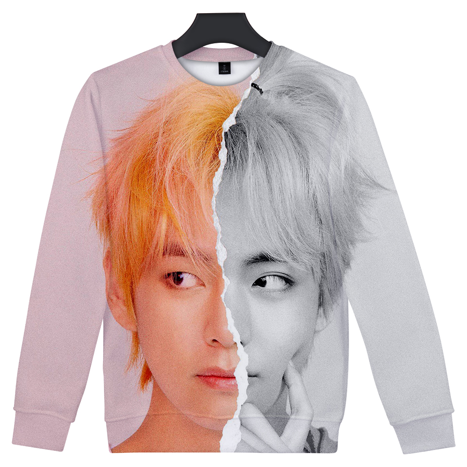 BF LUCKYFRIDAYF 2019 3D Print LOVE YOURSELF ANSWER Women Clothes Cool Hoodies Sweatshirts Long Sleeve Harajuku Hip Hop Tops For