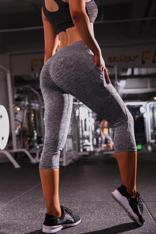 LAISIYI Women's Fashion Seamless   Leggings   Ladies Athleisure Sportswear Pants With Pocket High Waist Solid Fitness   Leggings