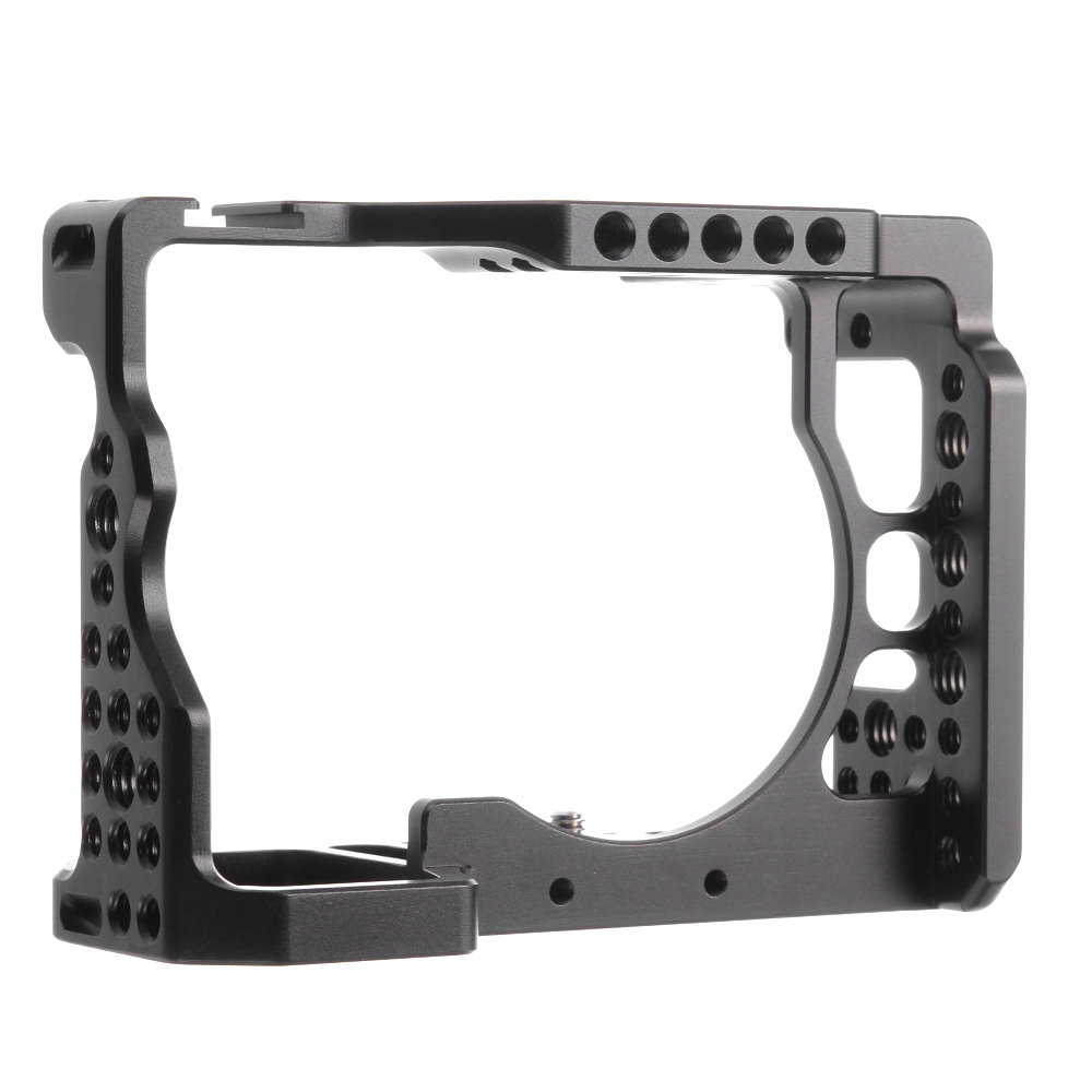 Camera Cage Cold Shoe With Arri Rosette Mount 1/4 3/8 for Sony A7RIII / A7III ILCE-7RM3 / a7R Mark III SeriesCamera Cage Cold Shoe With Arri Rosette Mount 1/4 3/8 for Sony A7RIII / A7III ILCE-7RM3 / a7R Mark III Series