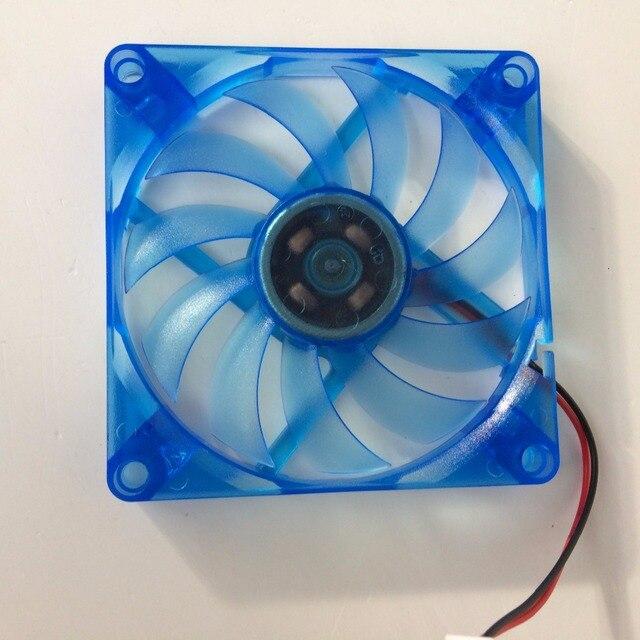Diy 2ピース/ロットpcコンピュータファン80ミリメートル8センチdc 12ボルトオイルベアリング冷却クーラー80ミリメートルx 80ミリメートルx 10ミリメートル
