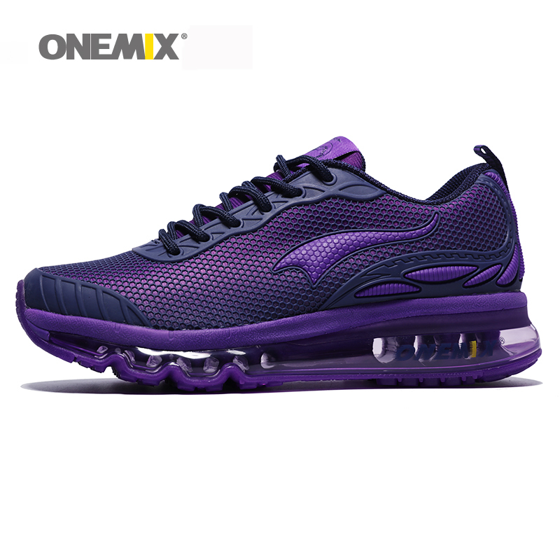ONEMIX Women Running Shoes For Woman Sport Sneakers Air Cushion Nice Trends Runner Breathable Jogging Outdoor Walking Euro 36-40 onemix air men running shoes nice trends run breathable mesh sport shoes for boy jogging shoes outdoor walking sneakers orange