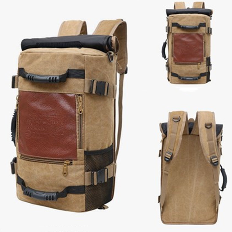 Large Capacity mens backpack Travel Bag sports Casual canvas Backpacks For Male Mutifunctional Out Door Bags school bags packLarge Capacity mens backpack Travel Bag sports Casual canvas Backpacks For Male Mutifunctional Out Door Bags school bags pack