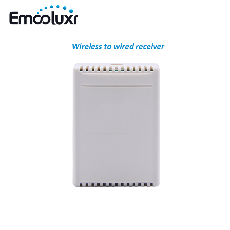 Wireless To Wired Convertor Receiver 4 Channel Relay Contact Output