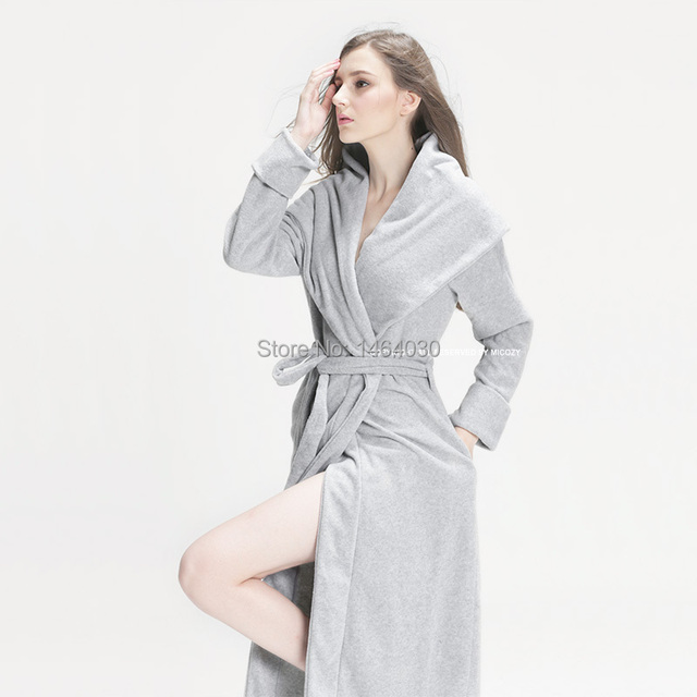 Robe de chambre femme d'hiver