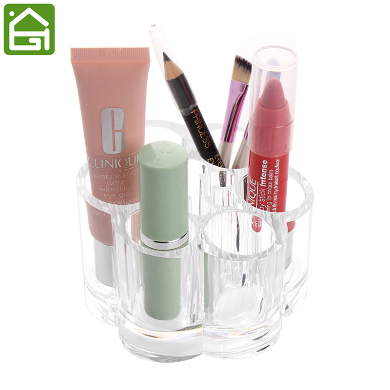 Beauty Clear Acrylic Makeup Organizer Cosmetic Storage