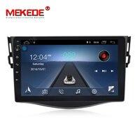 mekede Android 8.1 car dvd player for Toyota RAV4 Rav 4 2007 2008 2009 2010 2011 2 din 1024*600 gps navigation wifi 4 core