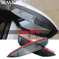 On Car Styling Rear View Rearview Mirror Eyebrow Rainproof Flexible Blade Protector For Kia RIO K2 2012 2013 2014 2015 2016 2017