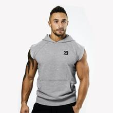 2018 verano deporte suéteres hombres entrenamiento con capucha gimnasio  camiseta sin mangas baloncesto deporte entrenamiento suéteres d0afd7f93cc65