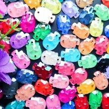 Factory direct sale 4mm 5mm 6mm 7mm 8mm 10mm Sew on Amethyst Glass crystal rhinestone beads Silver claw garment diy trim