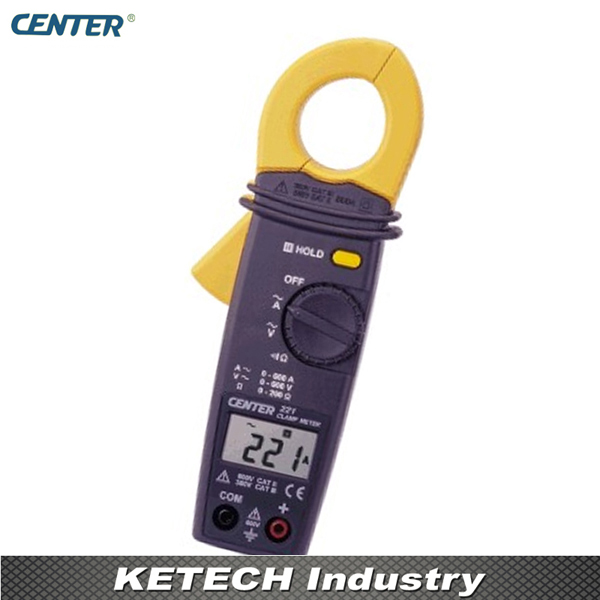 Mini Clamp Meter, AC Clamp Meter Tester CENTER221