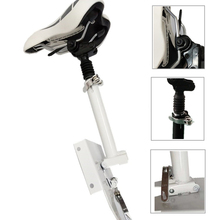 Electric Scooter Saddle Seat Foldable Shock Absorbing Cushion Adjustable Damping Chair for Xiaomi M365 Scooter foldable saddle for h8 electric scooter