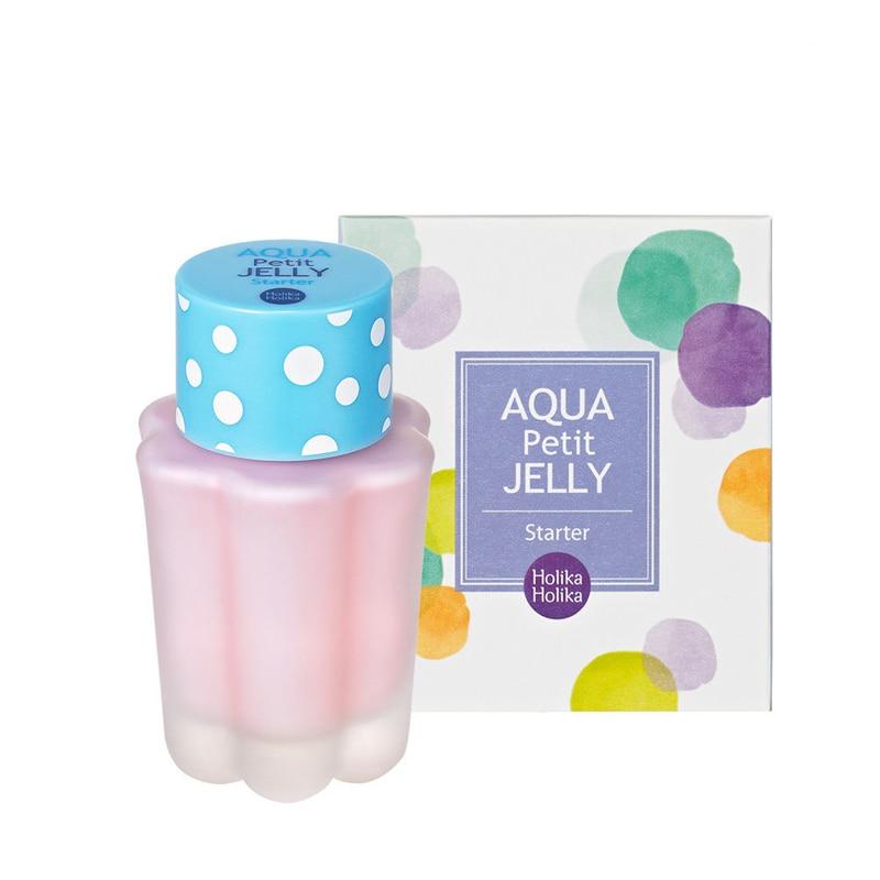 HOLIKA HOLIKA Aqua Petit Jelly Starter 40ml Moisturizer Face Primer Make Up Base Foundation Makeup BB Cream Concealer