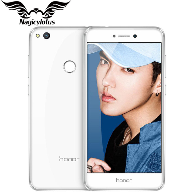 "На складе оригинальный huawei honor 8 lite 4 г lte mobile телефон 4 ГБ RAM 32 ГБ ROM Кирин 655 Окта основные 5.2 ""FHD 1920*1080 P 12MP 3000 мАч"