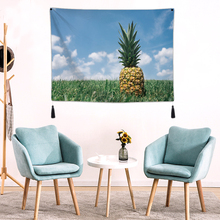 3D Background Fabric Valance Tapestry Wall Hanging Plants Bedroom Living Room Blanket Yoga Beach Towel Tablecloth Home 100*70