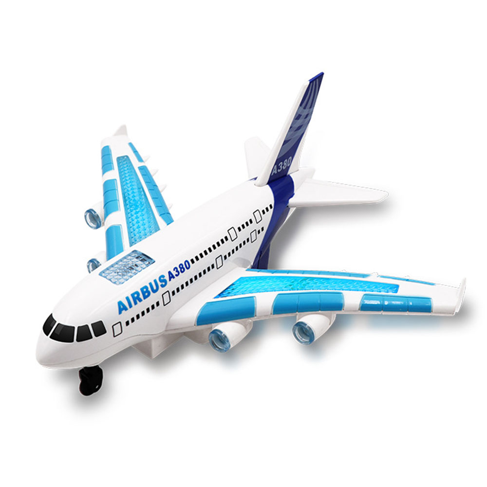 Image 3 - Kids Airplane Toys Airbus Electric Remote Control Model Plane with Lights Sounds  Model Kids for Children Gifts-in RC Airplanes from Toys & Hobbies