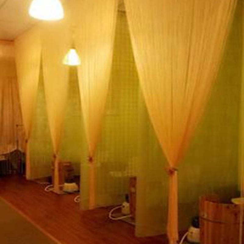 13 Colors Door Windows Panel Organza Curtains for Living Room 2m x 1m Divider Yarn String Curtain Strip Tassel Drape Decor