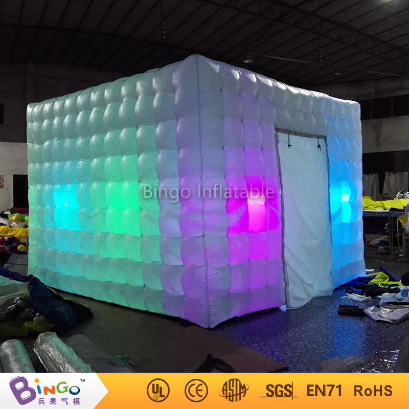 2017 Free Delivery wonder cube tipi inflatable led lighting photo booth tent Customized blow up marquee for toy tent critical success criteria for public housing project delivery in ghana