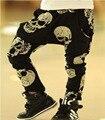 2017 Новых Детей леггинсы весна осень детская одежда девушки брюки бобо выбирает, одежда леггинсы детские шаровары череп брюки YAZ019