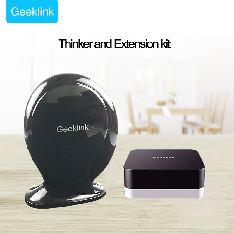 Geeklink Thinker+Extension Intelligent Controller Router+RF+IR+Wifi Switch Remote Control Home Security Kit by Phone Smart Home