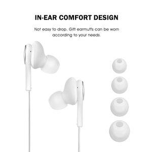 Image 4 - Auricolari Samsung AKG EO IG955 3.5mm In ear con microfono auricolare per Samsung Galaxy s10 S9 S8 S7 S6 S5 huawei xiaomi smartphone