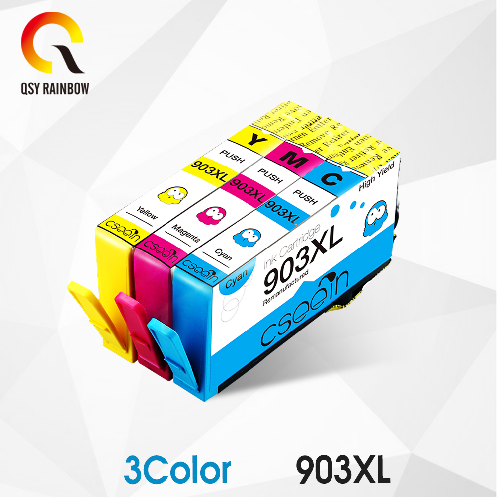 CMYK SUPPPLIES NEW 3pcs Ink Cartridge compatible for hp 903 ( for HP907 ) XL Officejet Pro 6950 6960 6962 6963 6964 6965 6966|Ink Cartridges| |  - title=