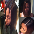 100% Unprocessed Short Bob U Part Human Hair Wigs Black Women Brazilian Virgin Hair Wig 8A Silky Straight Upart Wigs For Sale