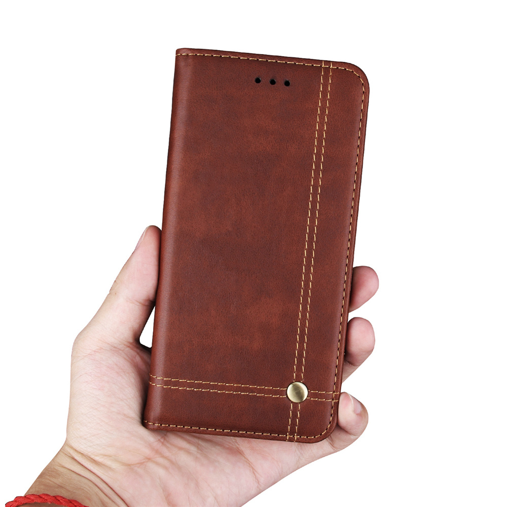 New Design Flip Leather Phone Case Cover For Xiaomi Mi A2 Lite Case Card Holder For Xiaomi Mi A2Lite Case for Xiaomi A2 Lite in Wallet Cases from Cellphones Telecommunications