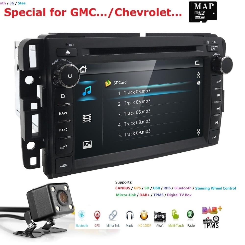 Car Stereo Dvd Player For Gmc Chevy Silverado 1500 2012