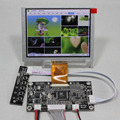 VGA + AV placa Controladora Lcd KYV-N2 V6 + ZJ050NA-08C replcement AT050TN22 640*480 painel lcd de 5 polegadas