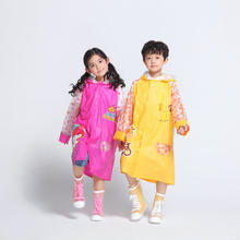 PVC impermeable con inflables ala moda impermeable nan nv niño los estudiantes con bolsa impermeable al por mayor(China)