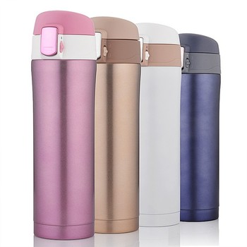 2019 New Year Gift Insulated Thermo Mug Vacuum Cup Stainless Steel 500ml Thermos Bottle Thermos Coffee Drinkware