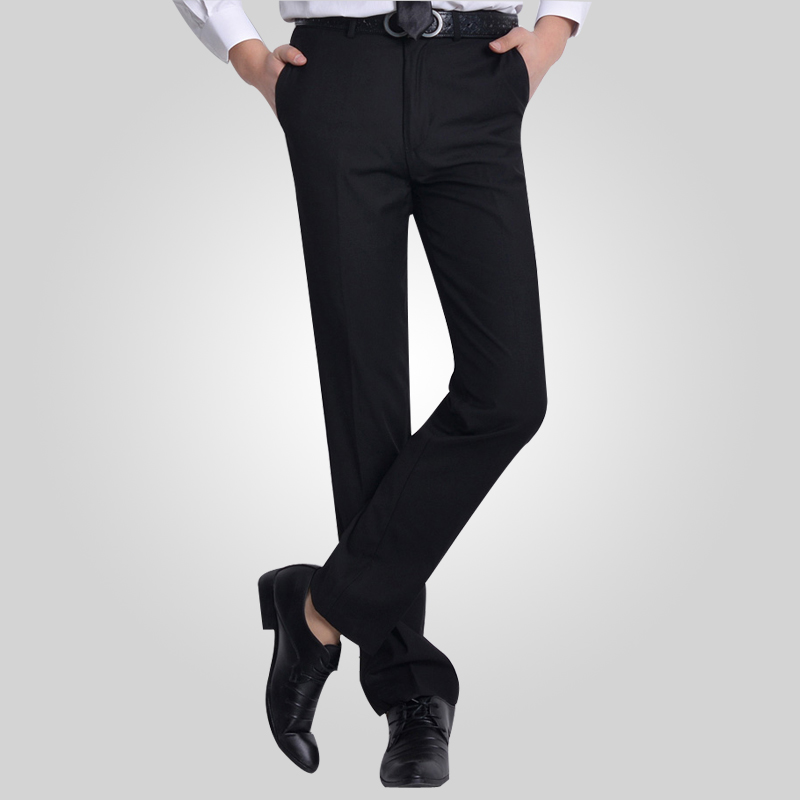 2018 Formal Wedding Men Suit Pants Fashion Slim Fit Casual Brand