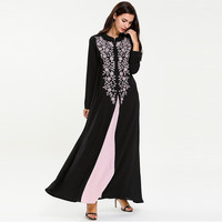 abayas for women muslim long abaya beautiful muslim dresses Middle Eastern Long Dress Middle Eastern Long Dress T521