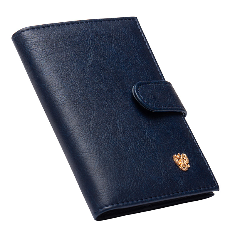2019 New Fashion Passport Holder Wallets Hasp Soft PU Leather Credit Card Cover For The Passport Protector Travel Documents Case