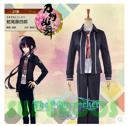Free shipping! Touken Ranbu Online Namazuo Toushirou Uniform Cosplay Costume ,Perfect Customize For you!