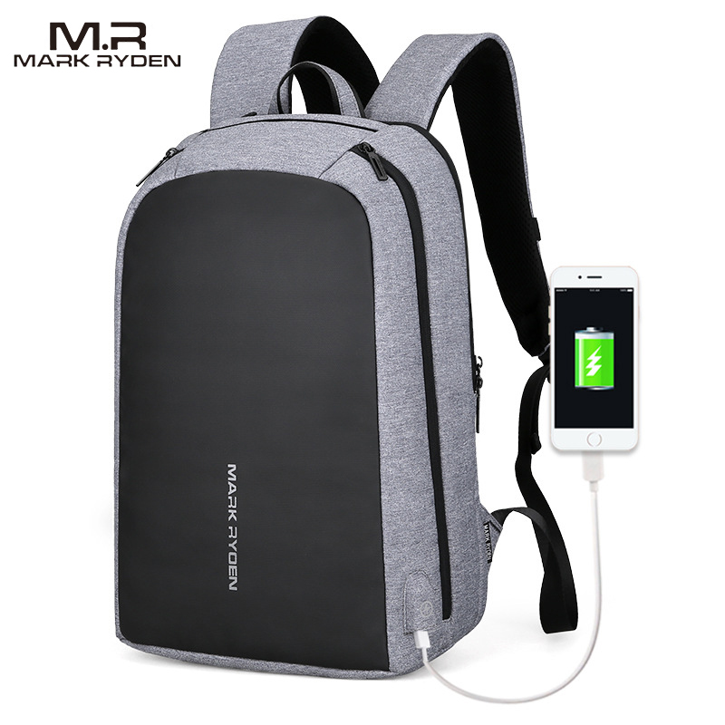 Mark Ryden Men s Backpack USB Refill for Men s 15 6 Laptop Casual Backpack Business