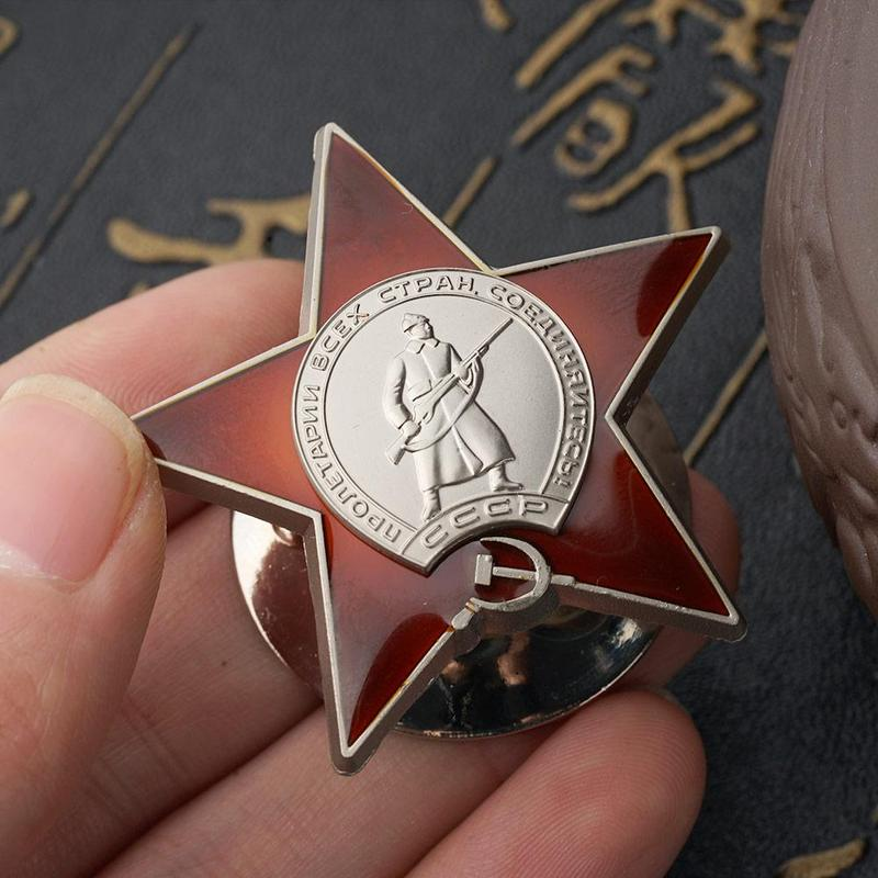 Russian Red Army Soviet Union USSR Military Medal Badge For Uniforms Souvenir Medal Military Medal Badge For Drop Shipping
