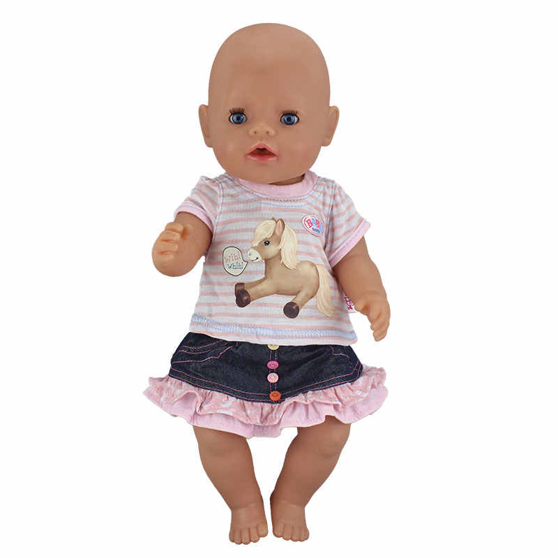 Dress Suit For 17 Inch  Baby  Doll 43cm  Clothes
