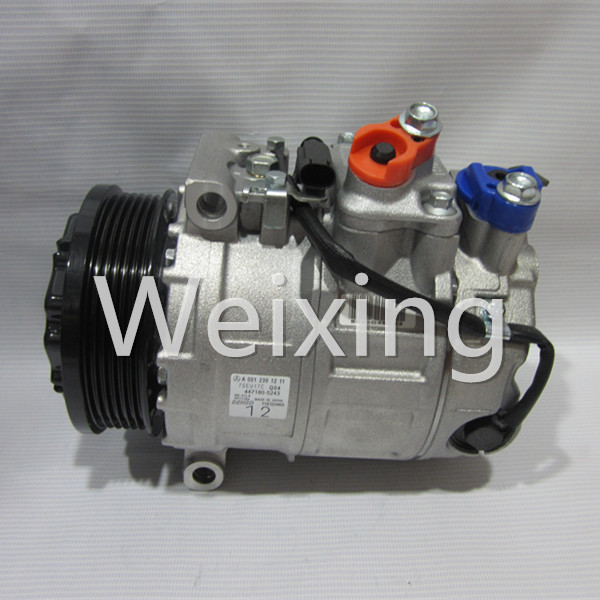 Auto Compressor 6SEU16C 6PK for Mercedes Benz W204 W212 W220 W221 Sprinter A0012305011 A0002309011