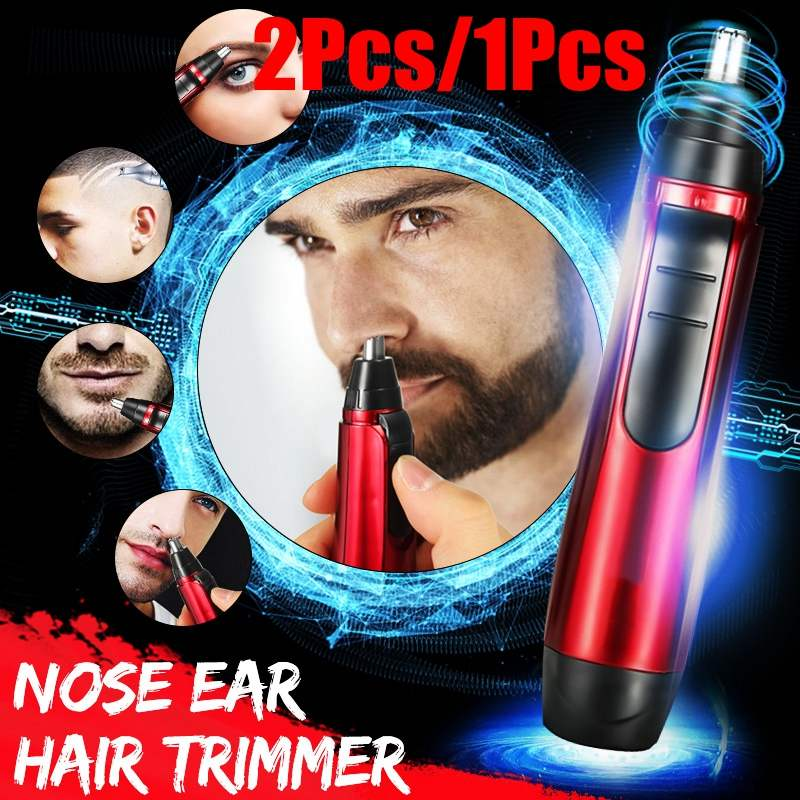 Electric Nose Hair Trimmer Women Eyebrow Shaping Device Shaving Cutting Machine Remover For Adult Lady