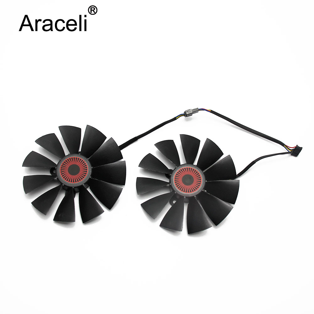 95MM FD10015H12S 0.55A 5Pin Cooler Fan For ASUS STRIX GTX 970 980 780 TI R9 380 Graphics Video Card Cooling Fan