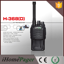 2pcs HT-368(D) SOS Alarm Function Hotel Security Walkie Talkie