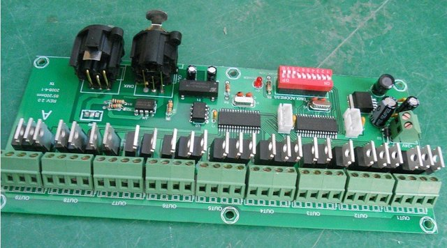 27 channel Easy DMX LED controller;dmx decoder& driver