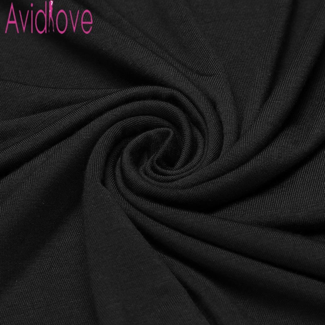 Avidlove Nightie Cotton Nightgowns Plus Size Sexy Home Wear Women's Sleepwear V-Neck Sleeveless Nightwear Female Sleep Dress 5