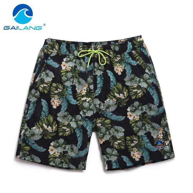 Gailang Brand 2017 New Men beach shorts Man Boxer Trunks Swimwear Swimsuits Man short boardshorts bermudas masculina de marca
