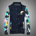 Free shipping 2015 autumn and winter explosion models of mixed colors fashion casual camouflage jacket