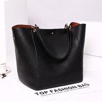 Women S Fashion Shoulder Bag Genuine Leather Tote Bag High Capacity Traveling Bag Hot Sale Cowhide