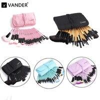 VANDER Professional 32 Pcs Makeup Brush Tools Soft Face Lip Eyebrow Shadow Make Up Brush Set