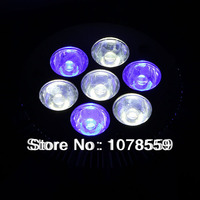 E27 21W 3White 2Blue LED Coral Reefs Grow Light Fish Tank Aquarium Lamp AC85 265nm 465