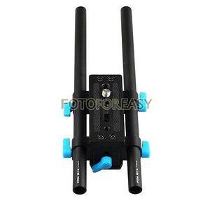 Image 1 - FOTGA DP3000 15mm Rail Rod Advanced Baseplate For HDV DSLR Follow Focus Rig 5D2 free shipping